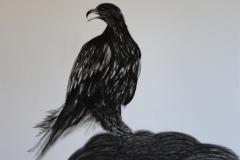 Serie negra. águila