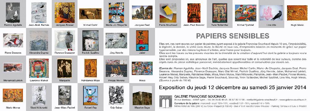 Exposición Papiers sensibles